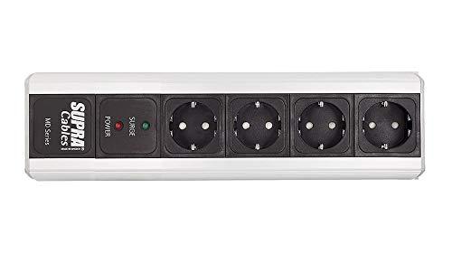 Supra Cables MD-04-Eu/SP MK III - Regleta de 4 enchufes