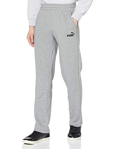 PUMA Herren ESS Logo Pants TR op SRL Hose, Medium Gray Heather, XL