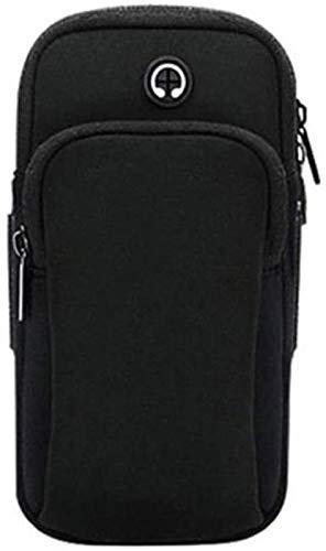 Bolsa de brazos de brazos del teléfono de los deportes bolsa de muñeca portátil al aire libre corriendo el brazo a prueba de agua, adecuado para la pantalla de 5 pulgadas a 6 pulgadas de teléfono móvi