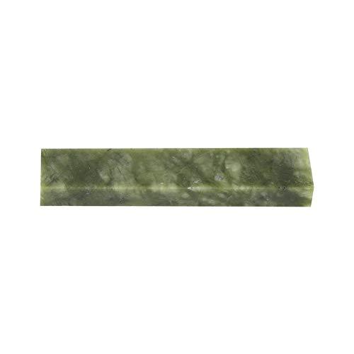 Piedra de afilar natural, afilador de cuchillos de piedra de afilar para afilar cuchillos de cocina, tijeras, picador, 100 * 20 * 10 mm(10000# verde)
