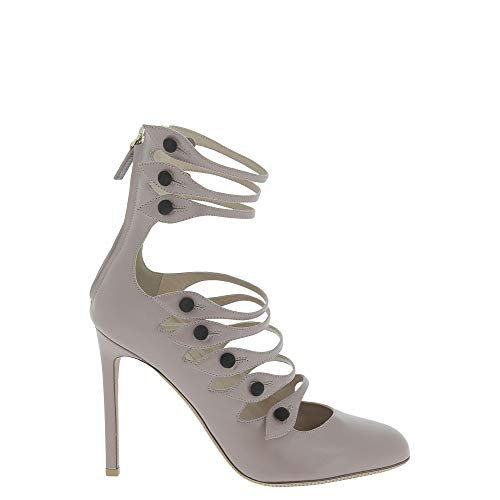 Valentino Luxury Fashion Damen NW0S0E51QSN0D4 Grau Pumps | Jahreszeit Outlet
