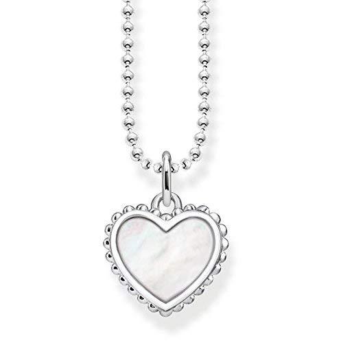 Thomas Sabo Damen-Halskette Glam & Soul Herz 925 Sterling Silber 45 cm KE1760-029-14-L45v
