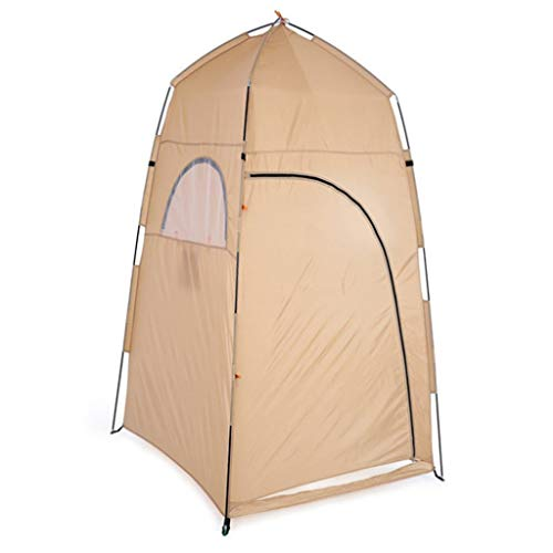 DFANCE Portable Privacy Shower Tent Pop Up Tent, Waterproof Portable Up Toilet Tents for Camping & Beach, Lightweight and Sturdy