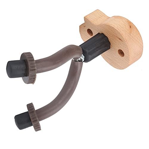 Guardián de guitarra de madera dura, diseño de protección fácil de instalar, soporte de violín seguro y estable para ukelele para estudio(GG-4, blue)