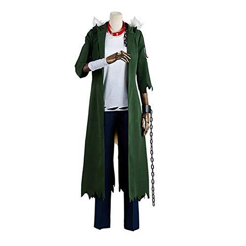 Charous Disfraz de anime japonés Boku No Hero Academia Coat T-Shirt Pantalones Uniforme Cosplay Fiesta Holloween Traje para hombres y mujeres