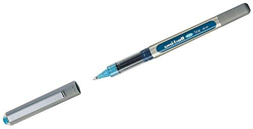 Tintenroller uni-ball® eye fine Strich: ca. 0,4 mm Schreibfarbe: hellblau
