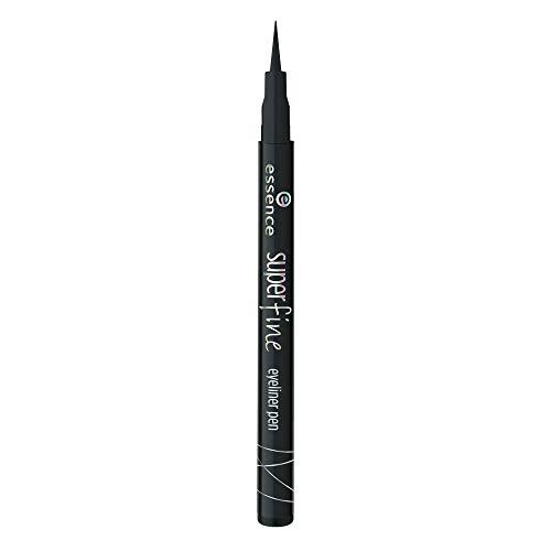 essence eyeliner pen, Eye Liner, Nr. 01 deep black, schwarz, definierend, langanhaltend, vegan, ohne Parfüm, ohne Alkohol, 3er Pack (3 x 1ml)