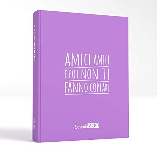 ScuolaZoo Agenda Diario Scolastico 2020 2021 con Meme divertentissimi e Tanti Adesivi, Disponibile in 6 Colori e 3 Dimensioni (Lilla, Giant)