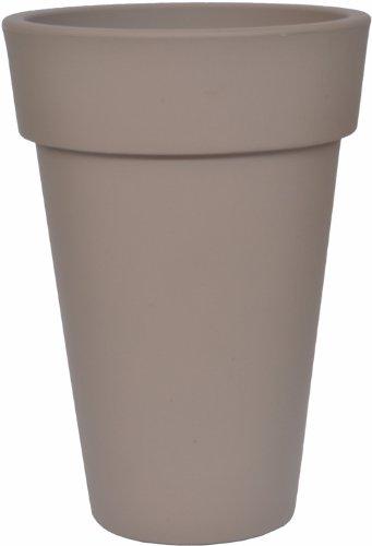 Chapelu COSAM45CI - Omega, Vaso da Fiori Alto in polietilene 64 cm, Colore: Antracite