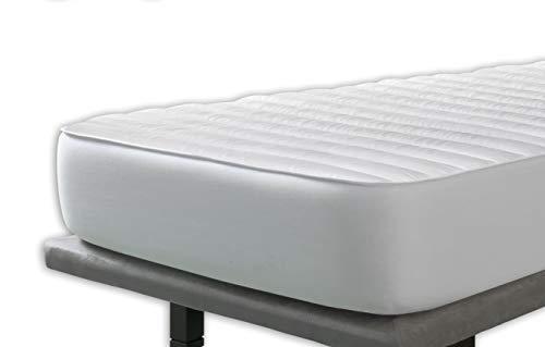 Velfont – Milbenschutz Matratzenauflage Zum Wenden – 180x200cm – matratzen-Topper | matratzenschoner | boxspringbett– verfügbar in Verschiedenen Größen