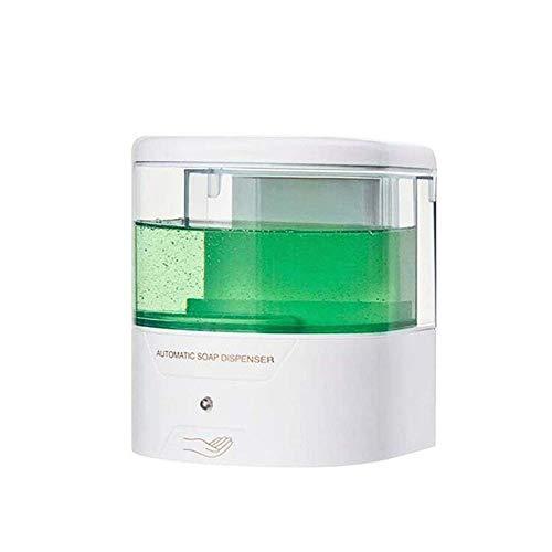 GFHTH Seifenspender Automatischer Seifenspender Berührungslos Sensorischer Händedesinfektionsmittel Waschmittelspender 600 Ml Fassade Wandmontage Für Badezimmer Küche