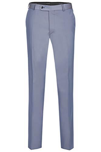 Wilvorst Hose zum Hochzeitsanzug Keith, Blau-Grau in Event Changeant, Slimline, Modern Fit Größe 50