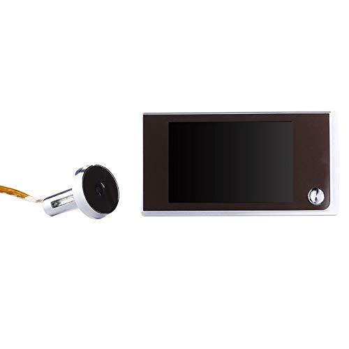 Zhangxia Ring Video doorbell SN520A Visor de Puerta de Mirilla de cámara de Seguridad con Pantalla de 1.0MP