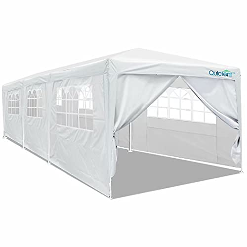 Overwhelming 10'x20' Heavy Duty Carport Garage Portable Car Shelter Canopy Party Tent Sidewall with Windows