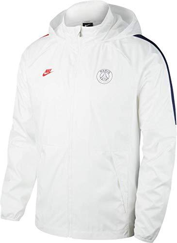Nike Herren PSG M NK AWF LTE JKT Sport Jacket, White/White/Midnight Navy/(University red) (no Sponsor-Cl), L