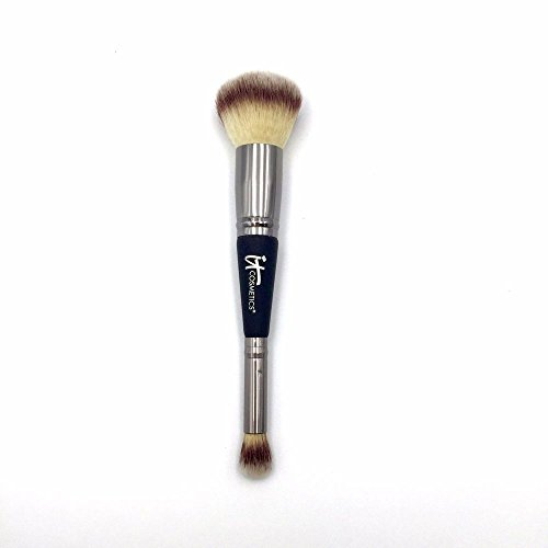 It Cosmetics Dual Airbrush Foundation Concealer Brush, .5 oz by IT Cosmetics