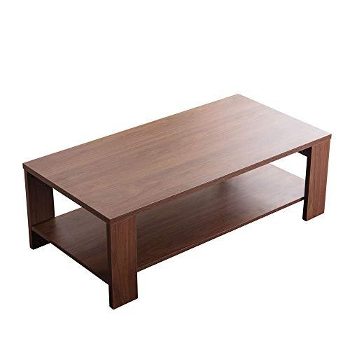Amazon Marke - Movian Ljungan, Esstisch mit Tischplatte in Nussbaumoptik, 160 x 90 x 75 cm