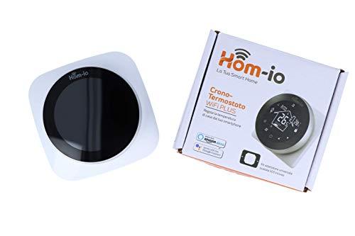 Wi-Fi Plus Smart Chronothermostat für Heizkessel und Gas-Boiler, digitales Thermostat, wöchentliche Programmierung im Modus 5+2, 6+1, 7, LCD-Display mit Touchscreen, hohe Sichtbarkeit, Montageset