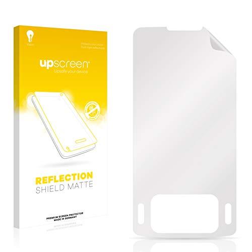 upscreen Entspiegelungs-Schutzfolie kompatibel mit Samsung SGH-G800 – Anti-Reflex Bildschirmschutz-Folie Matt