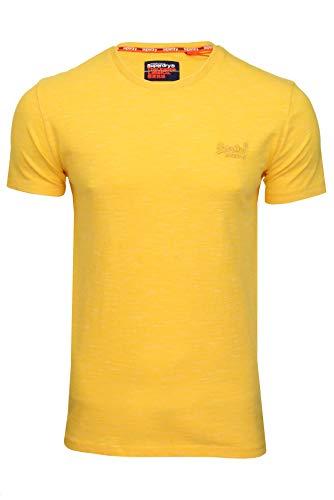 Superdry OL Vintage Emb Crew Camiseta para Hombre