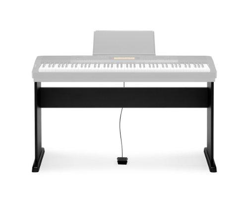 Casio CS-44P Stand opzionale componibile per Tastiera CASIO CDP 120-130-220-230, Nero