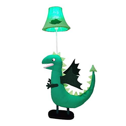 Dinosaurus kinderkamerlamp schattige creatieve kinderen cartoon Scandinavische stijl oogbescherming LED verticale lamp groen hoofdlamp kind