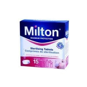 Reliable Milton Maximum Protection 28 Sterilizing Tablets - Kills Bacteria, Viruses, Fungi & Spores by BBY4ALL