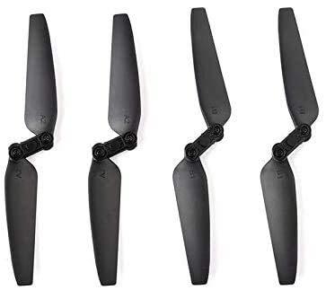 HANXIAOLONGA Elica di Alta qualità 4Pcs Elica per Eachine E520 E520S Elica Pieghevole a sgancio rapido Puntelli Set di Lame RC Drone Quadcopter Ricambi Accessori per droni