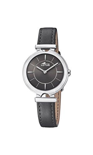 Lotus Watches Reloj Análogo clásico para Mujer de Cuarzo con Correa en Cuero 18451/2
