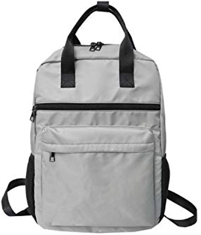 QWKZH Computertasche mit groem Fassungsvermgen, antike Schultasche, Studentin, Campus, einfacher, vielseitiger Rucksack, Straenrucksack