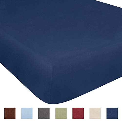Queen Size Fitted Sheet - Single Fitted Sheet Queen - Queen Fitted Sheet Only - Fitted Sheet Deep Pocket - Fitted Sheet for Queen Mattress - Softer Than Egyptian Cotton - Queen - 1 Fitted Sheet Only