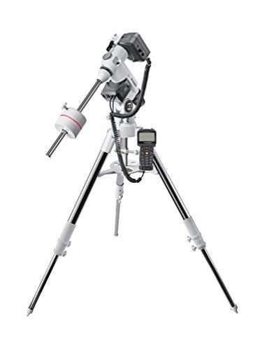 Bresser Messier EXOS-2 EQ GoTo Teleskop Montierung mit stabilem Aluminium Dreibeinstativ und automatischer Objektpositionierung, ideal zur Astrofotografie