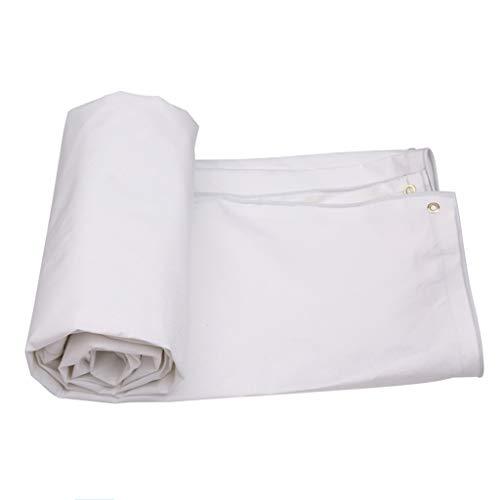Baches Toile antipluie Poncho Auvent épais Toile Imperméable Linoléum Toile de Protection Solaire Toile de Protection Solaire (Taille : 5m*4m)