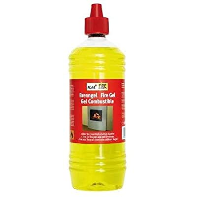 2 x 1 Litre Fuel Gel for Fireplaces and Fire Pots