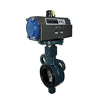 """DOW Valve Korea, Cast Iron Body, EPDM seat, Wafer Type, Butterfly Valve, Manual Operating, Pneumatic Electric Actuating, On-Off Valve, Size 1-1/2-6"""" for Power Plant, Steel Mill, Food, Equipment from DOW Valve Co.,Ltd."""