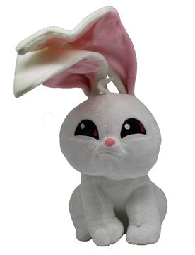 WildWorks knuffels van Animal Jam - Play Wild! Knuffels ca. 30 cm voor kinderen, meisjes en jongens, voor verzamelen en spelen (pinguïn, roze / geel)) (konijn)