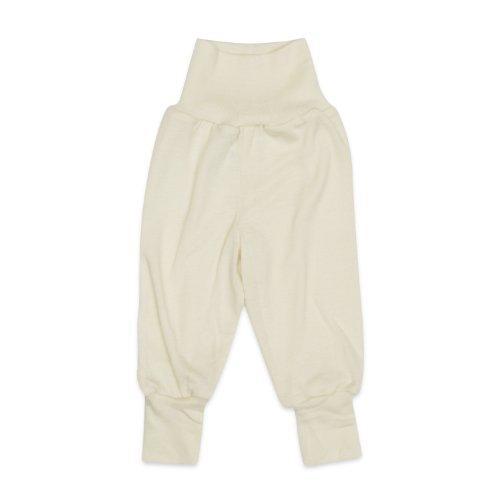 Engel - baby taille broek lang, 70% organische Merino wol, 30% zijde