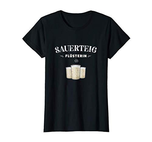 Damen Sauerteig Anstellgut Brot Backen Geschenk Hobbybäckerin T-Shirt