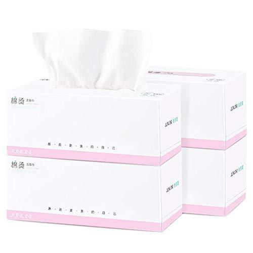 DALL Wegwerp Gezicht Handdoek Niet-geweven Gezicht Katoen Weefsel Nat Droog Dual-Gebruik Gevoelige Huidverzorging Goede Flexibiliteit 100 Stks per Doos