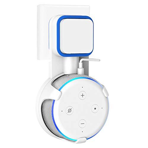 SPORTLINK Wandhalterung Halterung Ständer für Dot 3rd Generation, Aufgehängt Wall Mount Für Home Voice Assistants(Weiß)