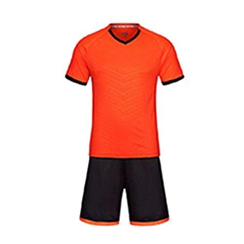 A/&H Fashion Kids Soccer Suits Football Kits Jerseys T Shirt Short UK Stock