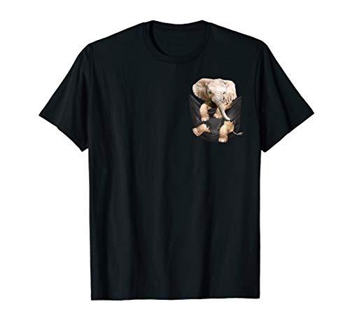 Lustiger Elefant in Ihrer Tasche für Tierliebhaber T-Shirt
