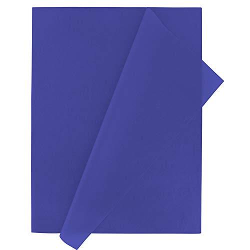 Fixo Kids 68000030. Pack de 25 Pliegos de Papel de Seda, Color Azul, 50x75cm, Perfectos para Manualidades