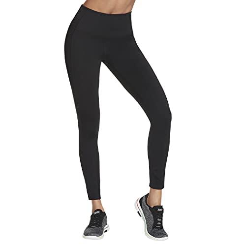 Skechers womens Go Flex Go Walk High-waist Leggings 2.0 Yoga Pants, Black, 24 US