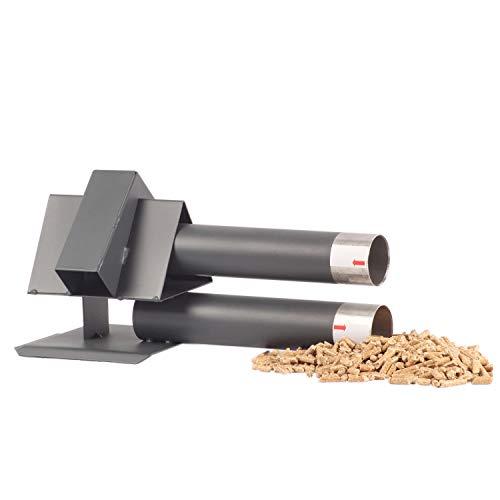 silos24 103403 Pellet Sonder Saugsonde, Saugsonde mit langen Stutzen, Zubehör für Pelletsaugsystem