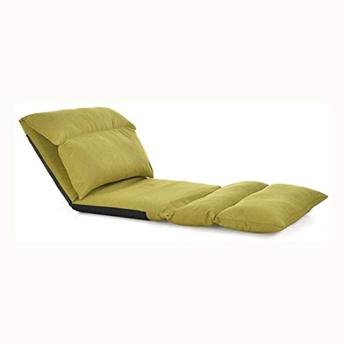 WSJTT Floor Sofa Chair Mutli-Angle Adjust Padded Floor Chair Gaming Leisure Chair Best for Household Relaxing (Size : D)