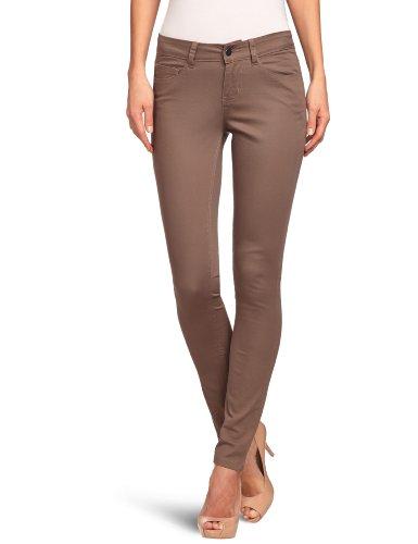 PIECES Damen Legging 17045173/FUNKY FIVE LEGGING/SAND, Gr. 38/40 (M/L), Braun (SAND)