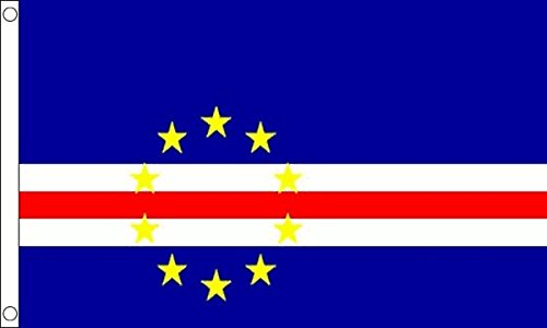 ShamrockSuperstore FlagSuperstore Flagge Kap Verde, 150 x 90 cm