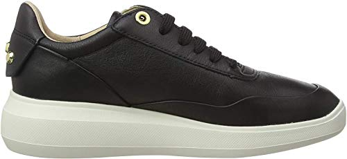 Geox Damen D RUBIDIA A Sneaker, Schwarz (Black C9997), 38 EU