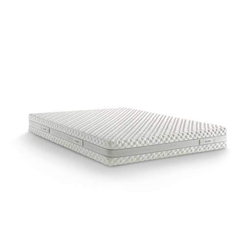 Dorelan Materasso Impulse (120x200), 5 tipologie di Myform, 7 Zone differenziate, Sostegno equilibrato, sfoderabile, 22 cm di Altezza
